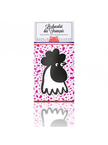 Tablette de Chocolat Noir Noisettes La Lectrice
