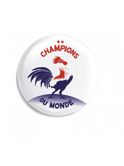 Décapsuleur Magnétique - Champions du Monde - Fabriqué en France