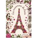 Eiffel Tower and Macaton Dish Towel
