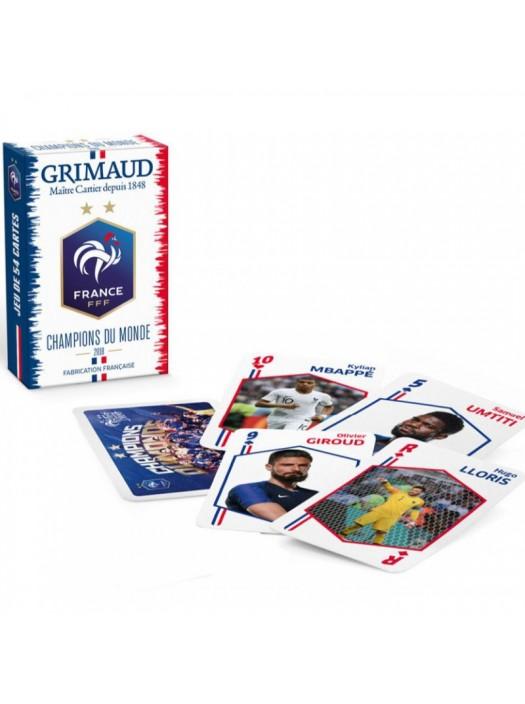 Jeu de 54 cartes : Champions du Monde