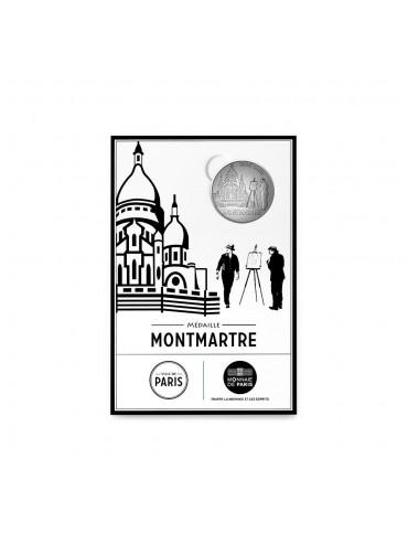 Cartelette Montmartre et Mini-Médaille