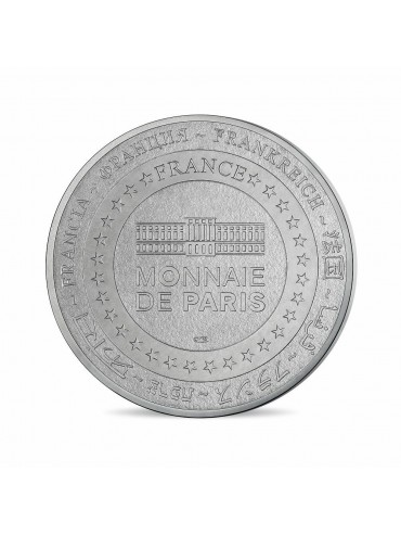 Opera postcard with Mini-Medal Monnaie de Paris