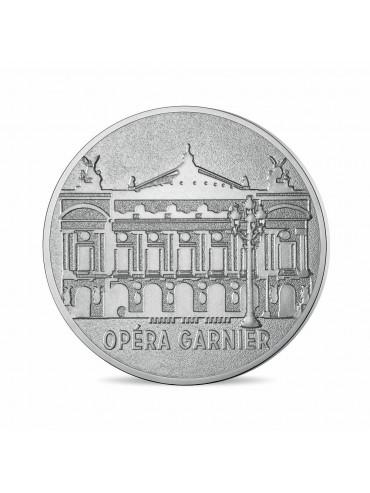 Cartelette Opéra de Paris et Mini-Médaille Monnaie de Paris