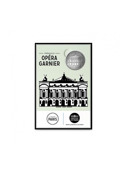 Opera postcard with Mini-Medal Monnaie de Paris