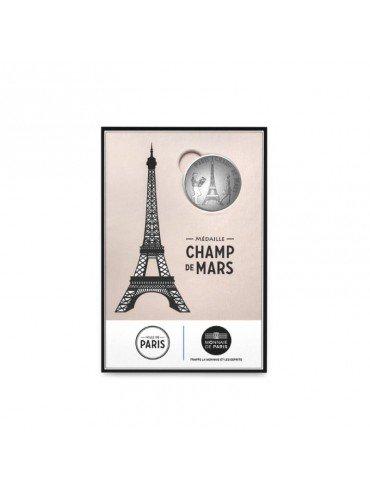 Eiffel Tower Postcard with Mini-Medal