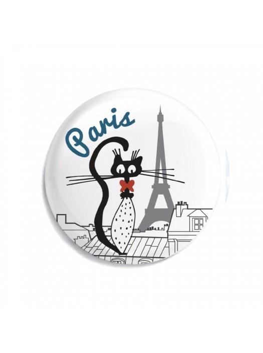 Parisian Rooftop Magnet