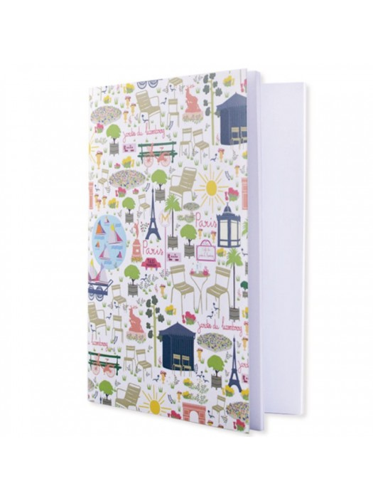 Paris Glamour Small Notebook