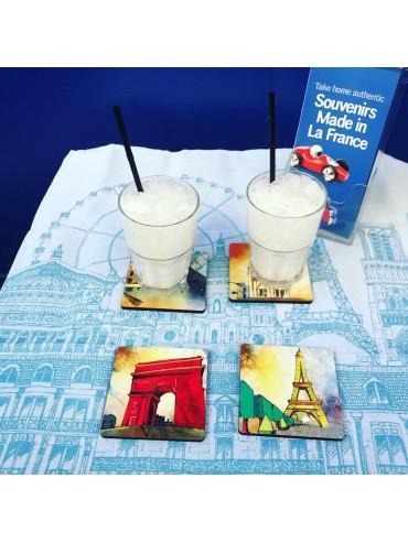 Paris Paris Resin Coasters - Gien