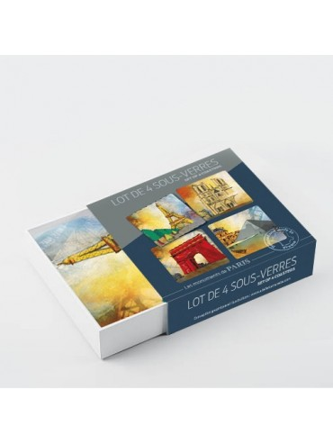 Parisian Monuments Coasters