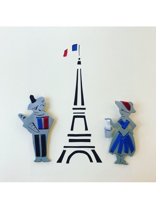 Les Parisiens Baguette Tour Eiffel
