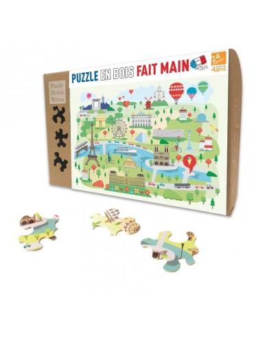 Puzzle Enfants 24 pièces Paris Illustré