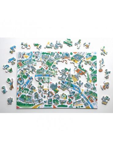 Children Jigsaw Puzzle Paris Illustré