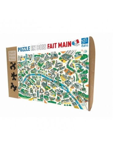 Children Jigsaw Puzzle Paris Illustré