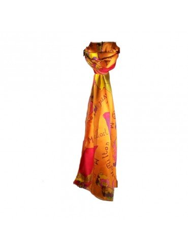 Jane April Silk Scarf