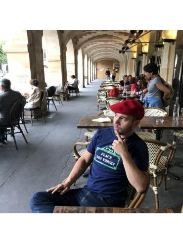 Tee-Shirt Place de Vosges 100% Coton