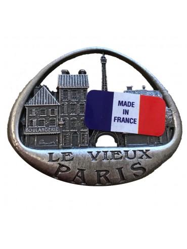 Magnet Vieux Paris Métal 3D