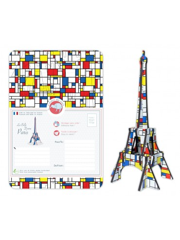 DIY Eiffel Tower Mondrian