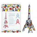 Tour Eiffel à Monter Mondrian