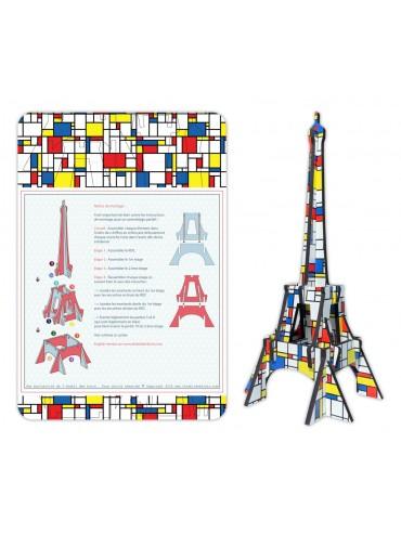 DIY Eiffel Tower Mondrian