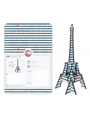 DIY Eiffel Tower Mariniere