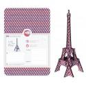 Tour Eiffel à Monter Bleu Blanc Rouge