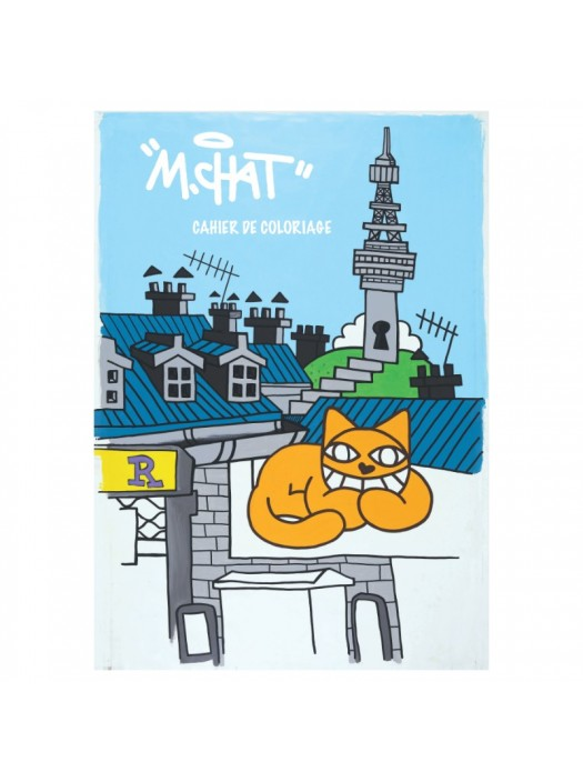 Monsieur Chat Colouring Book
