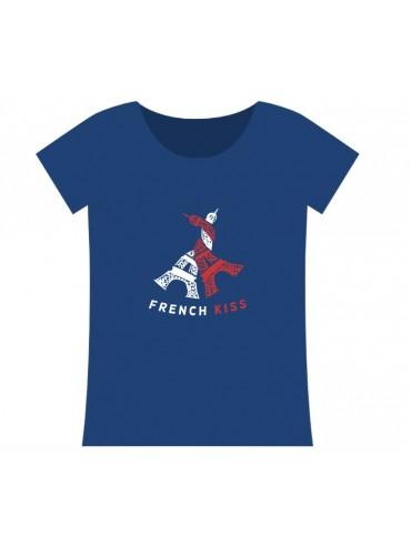 100% Cotton T-Shirt - French Kiss Blue