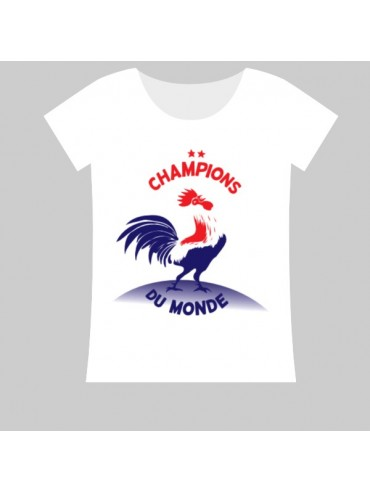 100% Cotton T-Shirt - World Champions