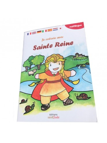 Cahier de Coloriage Sainte-Reine