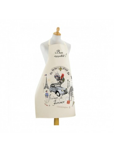 Large Kitchen Apron - France Diaporama