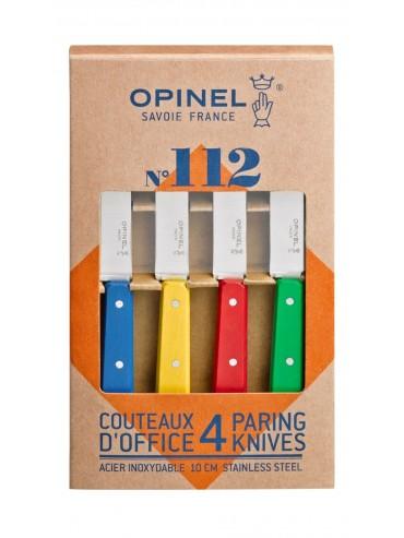 Coffret 4 couteaux Opinel Offices Couleurs Classiques