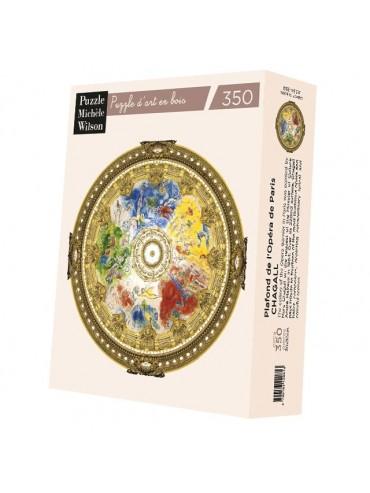 Puzzle Adulte 350 Pièces Plafond Opéra de Paris Chagall