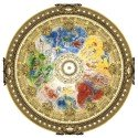 Adult Puzzle 350 pieces Ceiling of the Opera Garnier Chagall