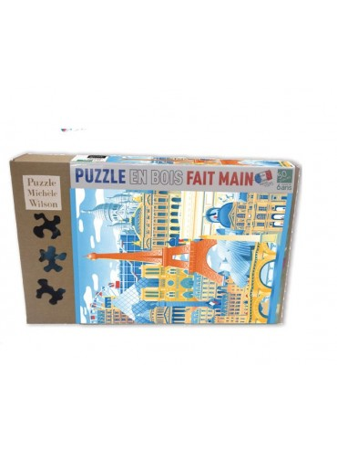Children Jigsaw Puzzle Paris en Folie 50 pieces