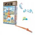 Children Jigsaw Puzzle Paris en Folie 50 pieces