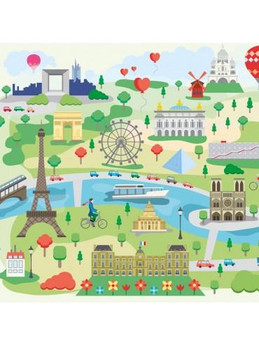 Jigsaw Puzzle Paris en Folie 30 pieces