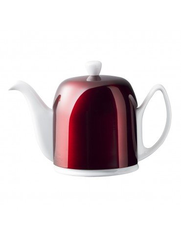 Teapot SALAM 6 Cups - Candy Apple Lid - DEGRENNE