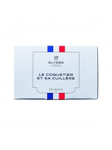 Coffret Coquetier + Cuillère  - République Française  - DEGRENNE Elysée