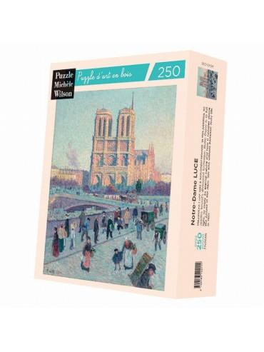 Adult Puzzle 250 pieces Notre Dame Maximilien Luce