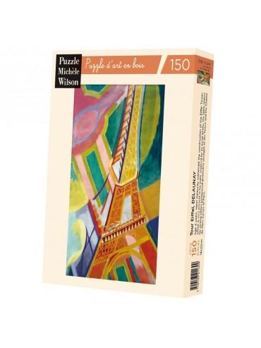 Puzzle Adulte 150 Pièces Tour Eiffel Robert Delaunay