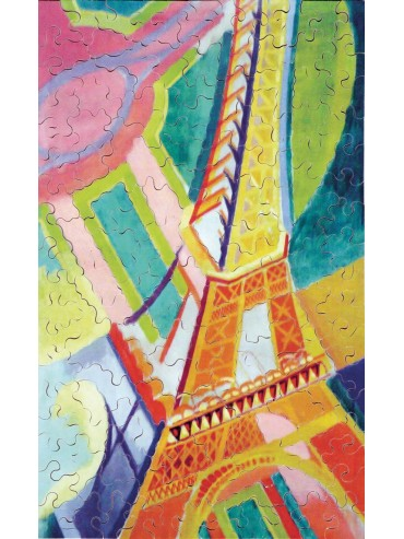 Adult Puzzle 150 pieces Tour Eiffel Robert Delaunay
