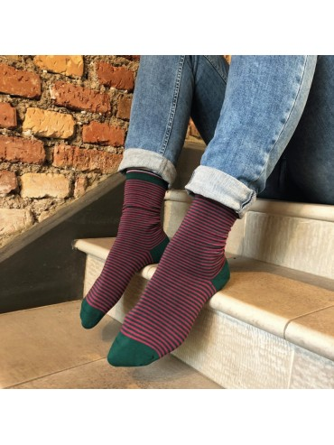 Stripe Socks for Women La Frenchie