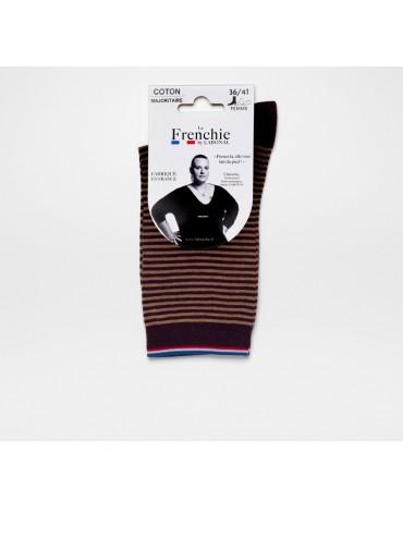 Socks Blackberry/Beige