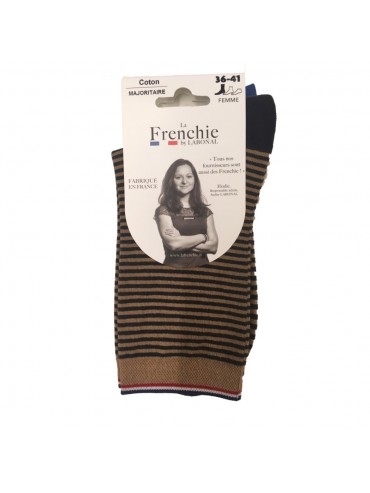 Socks Beige/Navy