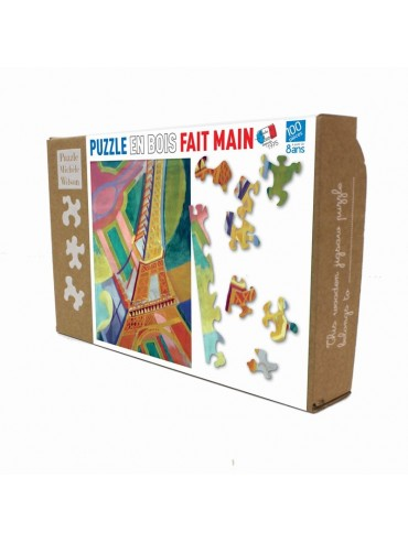 Children Jigsaw Puzzle Delaunay Eiffel Tower