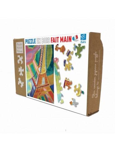Puzzle Enfants 100 pièces Tour Eiffel Delaunay