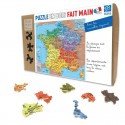 Children Jigsaw Puzzle French Departments