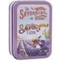 Soap 200g Vintage Metal Box Harvest - Scented Lavender