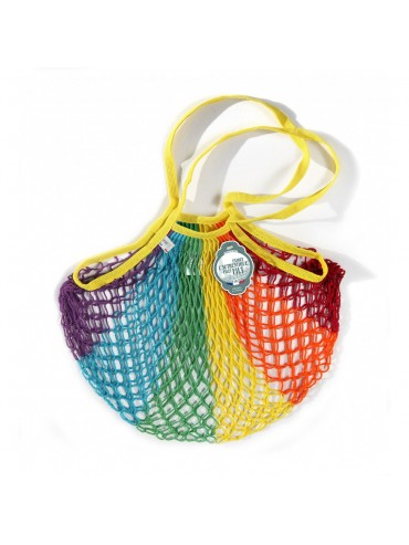 Shopping String Bag Rainbow