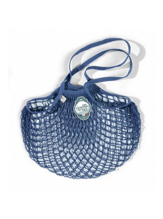 Shopping String Bag Blue